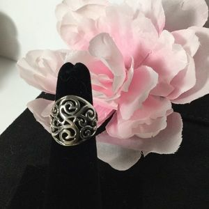 Jewelry - 🌸STERLING SCROLL RING🌸